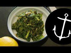 How to make Lemon and Mint Kale Salad Bondi Harvest - YouTube