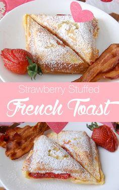 strawberry stuffed french toast a yummy way to start your day | NoBiggie.net