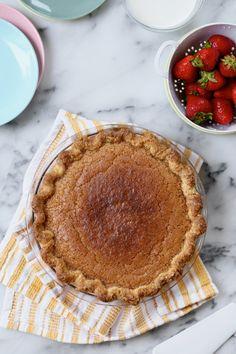 Brown Butter Chess Pie  //  joy the baker