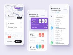 Public Transport Ticket App designed by Kate Pavlenko. Connect with them on Dribbble; Ios 7 Design, Design Logo, Dashboard Design, Design Design, Graphic Design, Design Trends, Design Ideas, Bus App, Taxi App