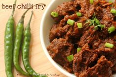 Ruchik Randhap (Delicious Cooking): Beef Chilli Fry