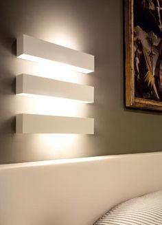 Sexy illumination. (Net Muro Wall Lamp. Viabizzuno.)