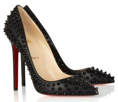 Christian Louboutin Pigalle Spikes Studded Pumps knockoffs..... I LOVE this website