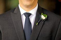 White Boutonniere | Park City Utah Wedding | Pepper Nix Photography | Summer Wedding Ideas
