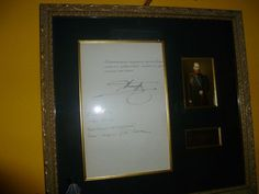 The signature of Alexander III.  Dated 1892.  From the Imperial Russian collection of Will Kolb