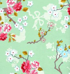 Chinese Rose Green 386 036 - Wall Rose - Online Shop