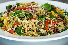 Asian Noodle Salad   The Pioneer Woman