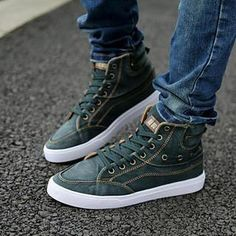 High-Top Stitch Sneakers from #YesStyle <3 MARTUCCI YesStyle.com