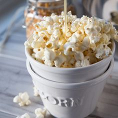 Honey Butter Popcorn - Tried and Tasty