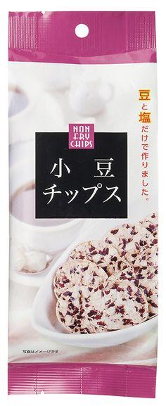 オーサワ小豆チップス原材料】 小豆(北海道産)、食塩(伯方の塩焼塩)
