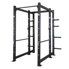 GARAGE GYM - Storage Power Rack FRST-1080  Dieses Storage Rack ist das XL-Rack  in der Garage-Gym-Series. Basierend auf dem Power Rack FSR-1080 - mit extra tiefen Innenmaß - jedoch mit zusätzlichen Storage Rack-Anbau mit insgesamt 8 Plateholder so wie einer weiteren Stabilizer Chin-Up-Bar, bietet dieses Rack enorm viel Bewegungsspielraum und Möglichkeiten.  http://www.megafitness-shop.info/Functional-Fitness/GARAGE-GYM-Rigs-Racks/Garage-Gym-Racks/GARAGE-GYM-Storage-Rack-FRST-1080--3966.html