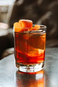 A combination of sweet and dry vermouth along with a burst of orange makes The Library Co. Negroni one for the books.  National Negroni Week ~ June 24-30, 2019.