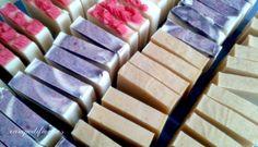 Pastillas de jabón natural cortadas - Campo di fiore