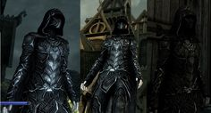 Nightingale Prime by: ZeroFrost reuploaded to skyrim nexus. I\'m very grateful and honored to have been given the permission to reupload this to skyrim nexus on Decem Skyrim Armor, Skyrim Cosplay, Nightingale Armor, Skyrim Nexus Mods, Dragon's Dogma, Satyr, Close Image, Darth Vader, Costumes