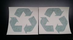 Recycle Logo Vinyl Decal Sticker Car Window Wall Bumper Home Renew and Reuse Art