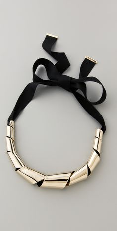 Marc by Marc Jacobs ribbon necklace.