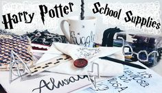 DIY Harry Potter School Supplies & Organisation Ideas! 10 Easy Crafts fo...