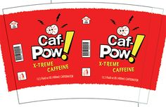 Print your own Caf-Pow cup labels!  Love Abby on NCIS!
