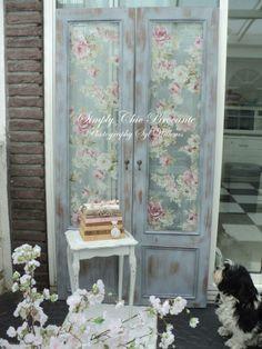 Decoupage flowers, then sheer fabric??? (720×960)