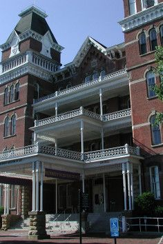 The Athens Lunatic Asylum in Athens, OH. Opened in 1874, closed in 1993.