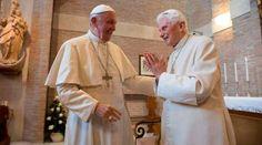 Papa Francisco visita a Benedicto XVI por Pascua y su cumpleaños 90  13/04/2017 - 11:52 am .- El Papa Francisco visitó el miércoles a Benedicto XVI en ocasión de la Pascua 2017 y para saludarlo por su próximo cumpleaños 90 que celebrará el domingo 16 de abril.