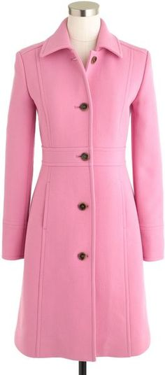 J CREW Double Cloth Lady Day Coat with Thinsulate - Lyst