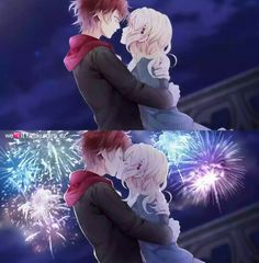 Diabolik Lovers Season 2, Diabolik Lovers Ayato, Ayato Sakamaki, Yui And Ayato, Manga, Diabolik Lovers Wallpaper, Lovers Pics, Vampire Love, Anime Love Couple