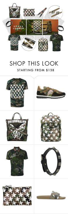 """Urban Jungle"" by tessabit ❤ liked on Polyvore featuring Oris, Valentino, men's fashion, menswear, valentino, polyvoreeditorial, valentinogaravani and polyvoreset"