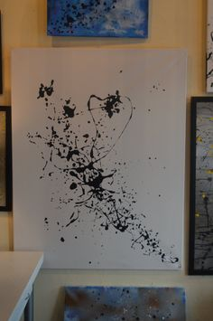 Drip art Simple