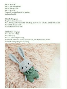Crochet Bird Patterns, Octopus Crochet Pattern, Crochet Animal Amigurumi, Crochet Beanie Pattern, Crochet Bunny, Crochet For Kids, Crochet Animals, Crochet Dolls, Crochet Doll Tutorial