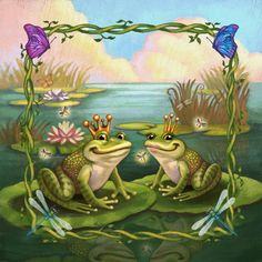 Frog Crowns and Fairy Tales by *CAMartin on deviantART