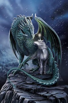 Protectors from Magick - - Dragons - # Protectors . - Protector of Magick – – dragons – - Mythical Creatures Art, Mythological Creatures, Magical Creatures, Dark Fantasy Art, Fantasy Artwork, Dragon Artwork, Cool Dragons, Beautiful Dragon, Dragon Pictures