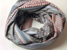 Tutoriel DIY: Coudre un foulard tube avec 6 fat quarters via DaWanda.com