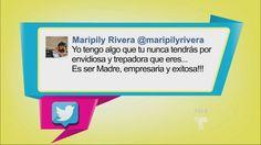 Guerra de twitts entre Sissi Fleitas y Maripily de Top Chef Estrellas (VIDEO)