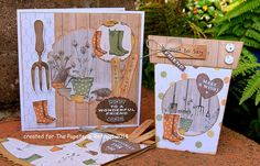 Kath's Blog......diary of the everyday life of a crafter: Potting Shed Pop Up Flower Adventure...