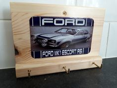 Ford escort key rack