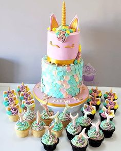 Mermicorn Cake Mermaid Cake Unicorn Cake Magical