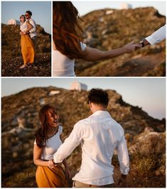 Santorini and it's beautiful villages Oia, Imerovigli and Firostefani are one of the most romantic and dreamiest places to elope and get married. This romantic couple shoot shows the beauty of Santorini on the caldera edge with a view! Santorini Sunset, Santorini Wedding, Most Romantic, Romantic Couples, Got Married, Getting Married, Couple Shoot, Photo Shoot, Wedding Photography