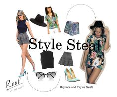 """""""stylesteal"""" by sadhbhk ❤ liked on Polyvore"""