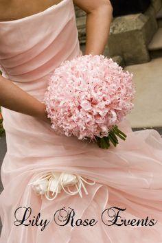 pink nerine bouquet