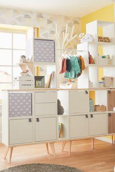 Kids filet rideau Hiboux Vendu PAR Mètre Enfants Nurserie Chambre Fente Haut-De Nombreuses Tailles