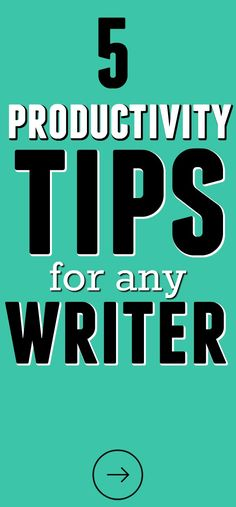 5 Productivity Tips from a 3,000+ Words-Per-Day Writer by Bethany Mcllrath