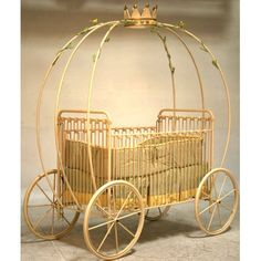 How AMAZING is this crib! Your nursery will turn into a fairy tale with this magical heirloom crib! This crib is available in multiple colors and finishes, including matte, distressed and gloss. Finishes are coated to resist scratches. Crib meets all safety guidelines and has a one side drop down.