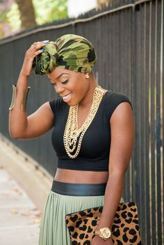 {Grow Lust Worthy Hair FASTER Naturally}        ========================== Go To:   www.HairTriggerr.com ==========================    She WERKED that Headwrap!!!