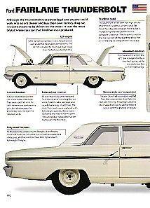 1964 Ford Fairlane Thunderbolt 427 Article - Must See !! Drag Racing NHRA