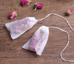 100Pcs/Lot Teabags 5.5 x 7CM Empty Scented Tea Bags With String Heal Seal Filter Paper for Herb tea