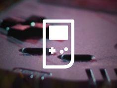 Gameboy Icon | Nostalgic Pictogram Design