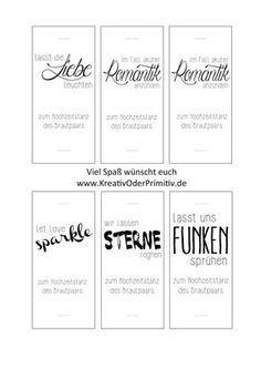 Wunderkerzen Etiketten Hochzeit Pinterest