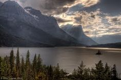Glacier National Park.  Beautiful!