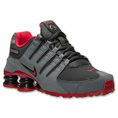 info for 78fda f7d5f Boys  Grade School Nike Shox NZ Running Shoes   FinishLine.com   Cool  Grey Distance Red Anthracite